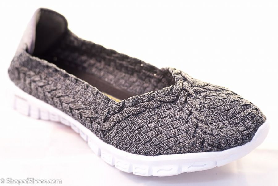 Adesso all elastic upper stylish grey light summer shoe.